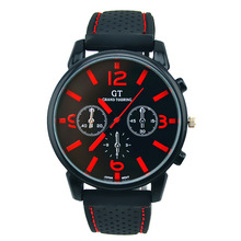 Relogio Masculino GT Brand Outdoor Sports Men Watch Silicone Quartz Watches Military Zegarki Meskie Erkek saatler
