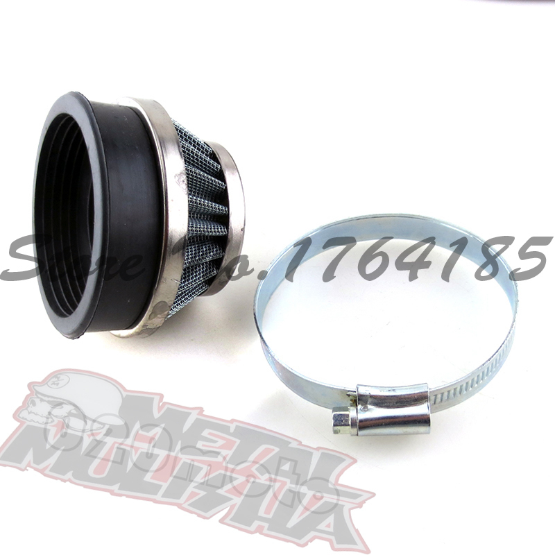 Air filter 58mm for 2 stoke mini pocket bike mini ATV dirt bike