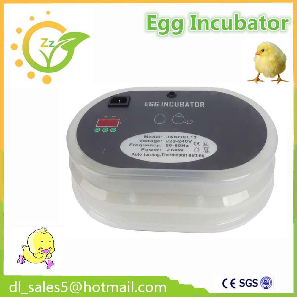 Chicken Duck Bird Egg Hatching Incubator Hatcher Temperature Control European standard plug chicken egg incubator hatcher 48 automatic mini parrot egg incubators hatcher hatching machines