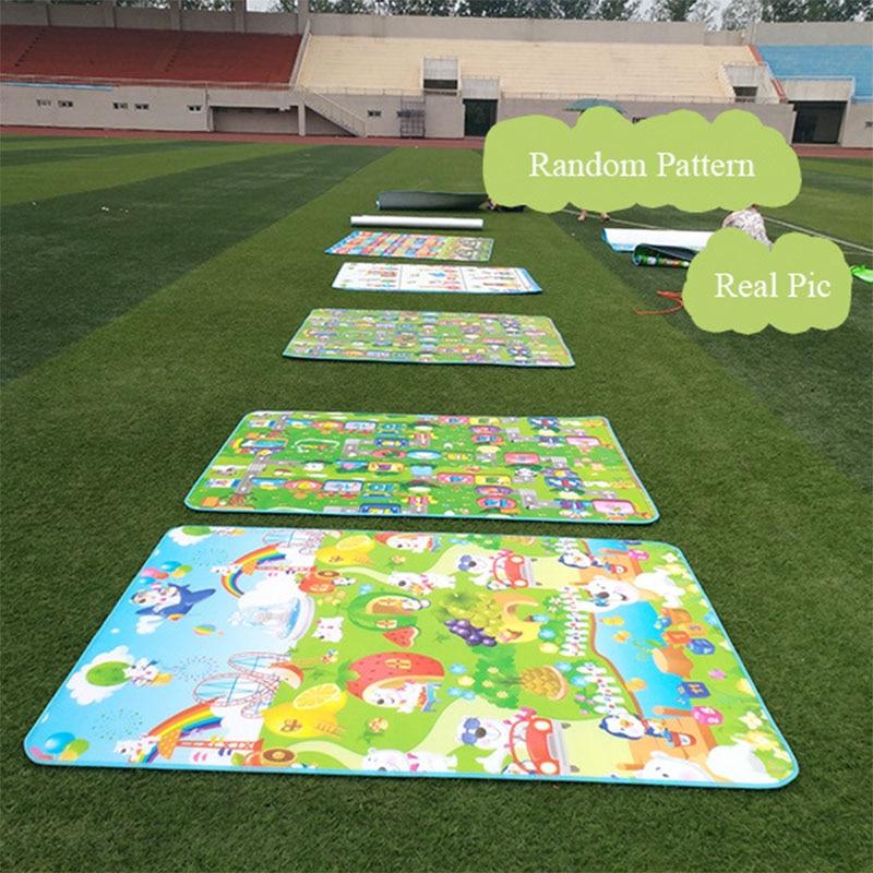 0 5CM 1CM Baby Play Reversible Crawling Mat Foam Puzzles Carpet Kids Rug Animal Developing Pad 0.5CM 1CM Baby Play Reversible Crawling Mat Foam Puzzles Carpet Kids Rug Animal Developing Pad for Children Soft Floor Game Toys