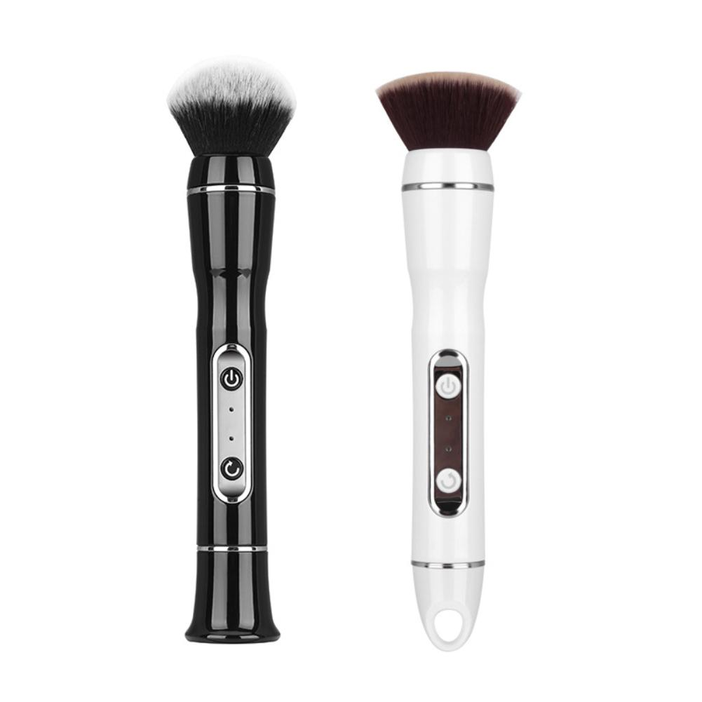 Portable USB Charge Foundation Blush Powder 360 Rotation Electric Makeup Brush