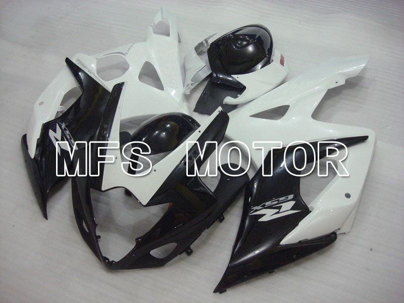 For Suzuki GSXR 1000 K5 2005 2006 Injection ABS Fairing Kits GSXR1000 K5 05 06 - Others - White/Black oem injection moulding moto fairing kit for suzuki k5 gsxr 1000 2005 2006 kits 05 06 all glossy black full fairings kits