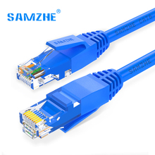 SAMZHE Cat6 Ethernet Patch Cable – RJ45 Computer,PS2,PS3,XBox Networking LAN Cords 0.5/1/1.5/2/3/5/8/10/12/15/20/25/30/40/50/80m