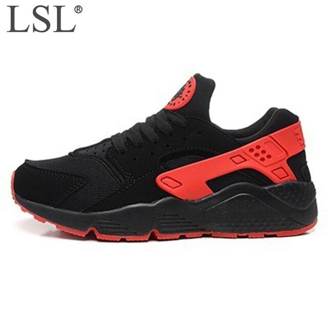 LANSHULAN 2017 Unisex Erkekler Eğitmenler Ayakkabı Erkek Rahat Ayakkabılar