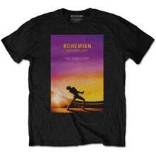 Queen Freddie Mercury Bohemian Rhapsody Pose Official Tee T-Shirt Mens Unisex O-Neck Fashion Casual High Quality Print T Shirt