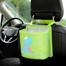 Cartoon Kids Car Backseat Multi-function Storage Bag