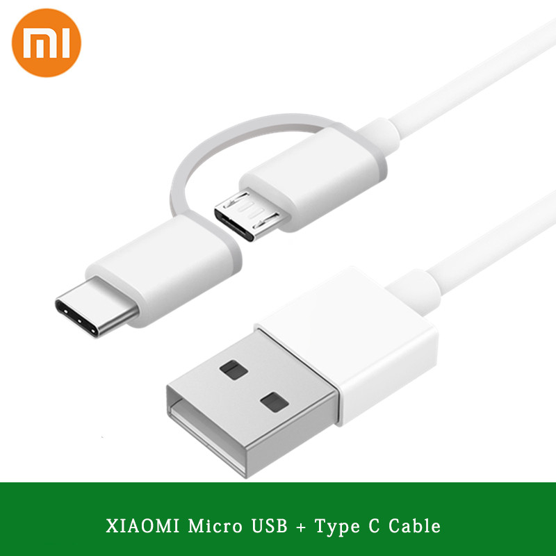Active Original Xiaomi 2 In 1 100cm Micro Usb To Type C Cable For Mi 5 5a 5c 5x 5s Plus 6 6x 8 Se Redmi 4a 4x 5 Note 4 4a 4x 5 5a Pro
