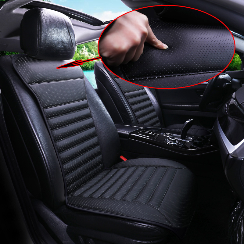 2018 brand new arrival pu leather car seats pad not moves seat cushions non slide car seat. Black Bedroom Furniture Sets. Home Design Ideas