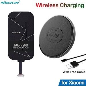 Image 1 - Nillkin Qi Wireless Charging for Xiaomi Mi 8 9 SE Lite 9T 10T Pro Redmi K30S K20 K30 5 6 7A Note 7 8 8T 9s 9 Pro Poco F1 Adapter