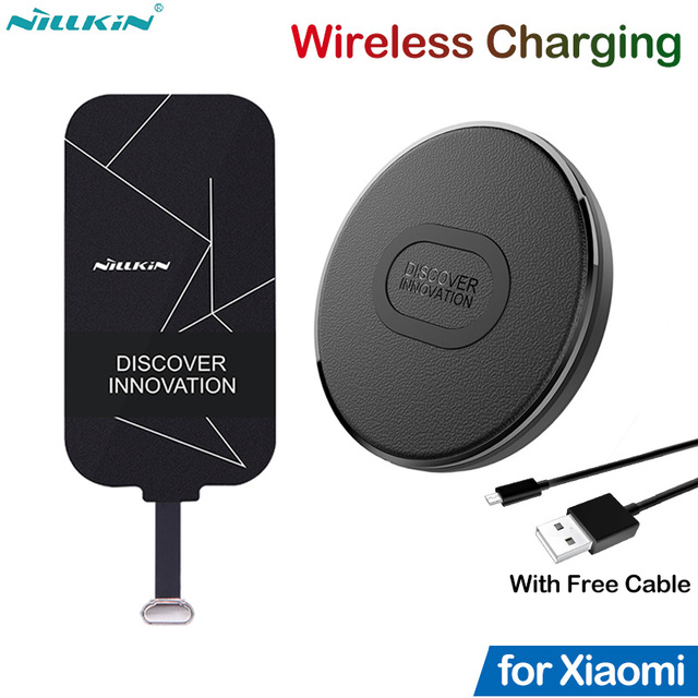 Nillkin Qi Wireless Charging for Xiaomi Mi 8 9 SE Lite 9T 10T Pro Redmi K30S K20 K30 5 6 7A Note 7 8 8T 9s 9 Pro Poco F1 Adapter