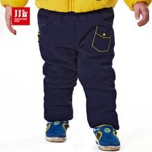 Детские брюки зимние брюки thicking теплый эластичный пояс trousrt для мальчиков брюки малышей дети теплые брюки