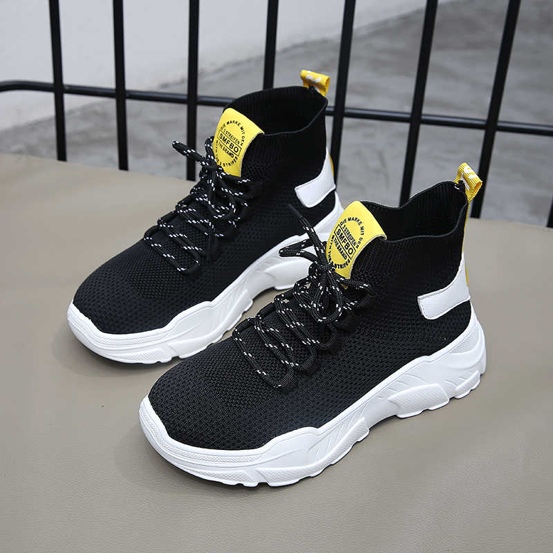 2020 High Top Running Shoes for Women Flywire Knit Upper Breathable Lightweight Sneakers Primeknit Sport Shoes Designer Sneakers