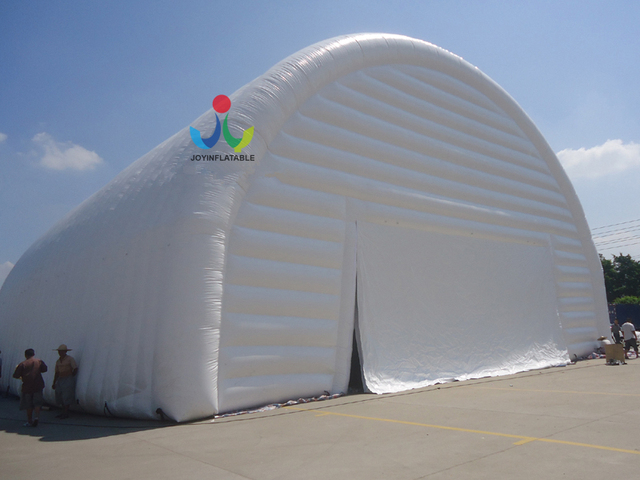 25X20X12M Temporary Outdoor Commercial PVC Inflatable Airtight Tents/Storage  Waterproof Large Exhibition Recreation Tent