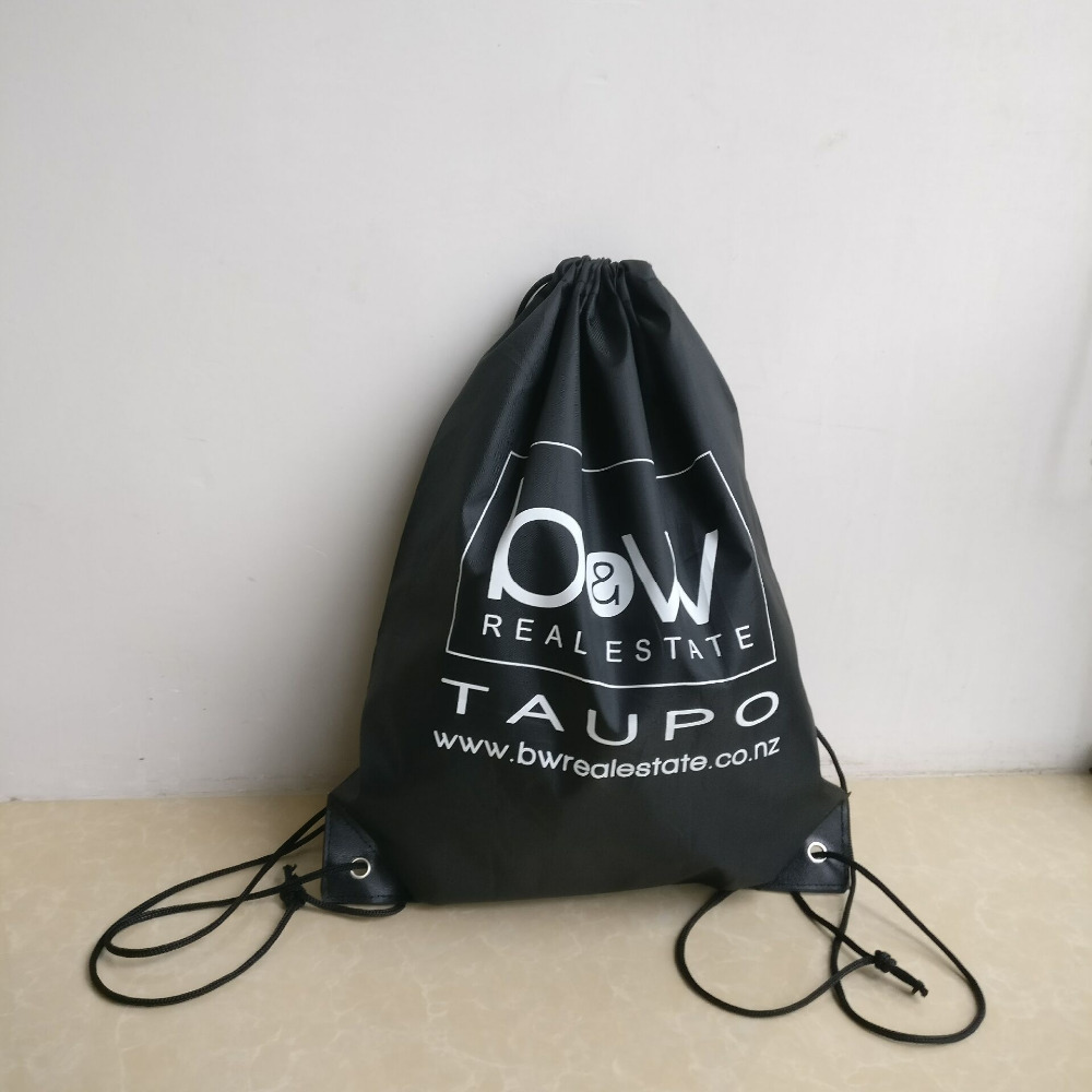 Wholesale 500pcs lot Custom Promotion Bags 210D DIY Nylon Drawstring  BackpackS with Logo Printing Waterproof Bag Free Shipping -in Shopping Bags  from ... e9c1b92f7e5a5