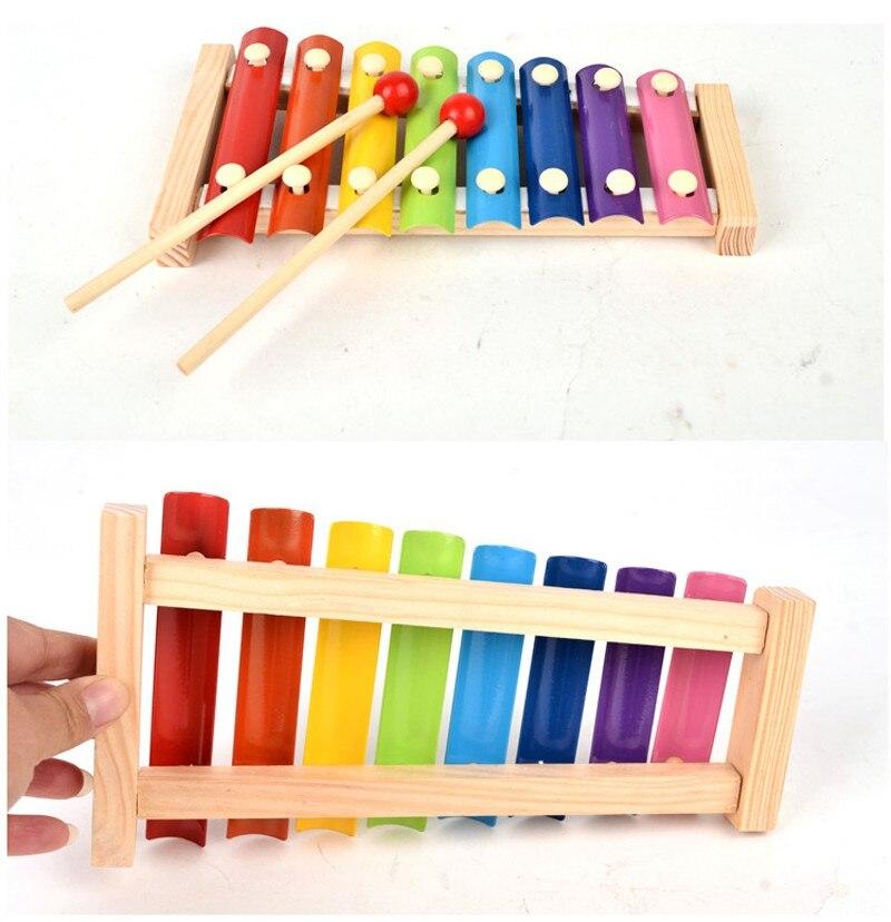 Brinquedos de Madeira Educacional Do Bebê Early