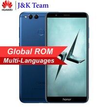 Huawei Honor 7X geniş ekran Ekran 5.93 inç 2160 * 1080pix Smartphone Octa Çekirdekli 2.4 GHz Çift Arka Kamera 16MP Android 7.0