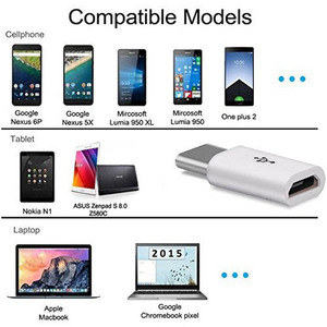 Image 3 - 10 Pcs Mini Type C Adapter Micro USB Female To Type C Male Adapter Converter For Micro To USB C Type C USB 3.1 Data Charging