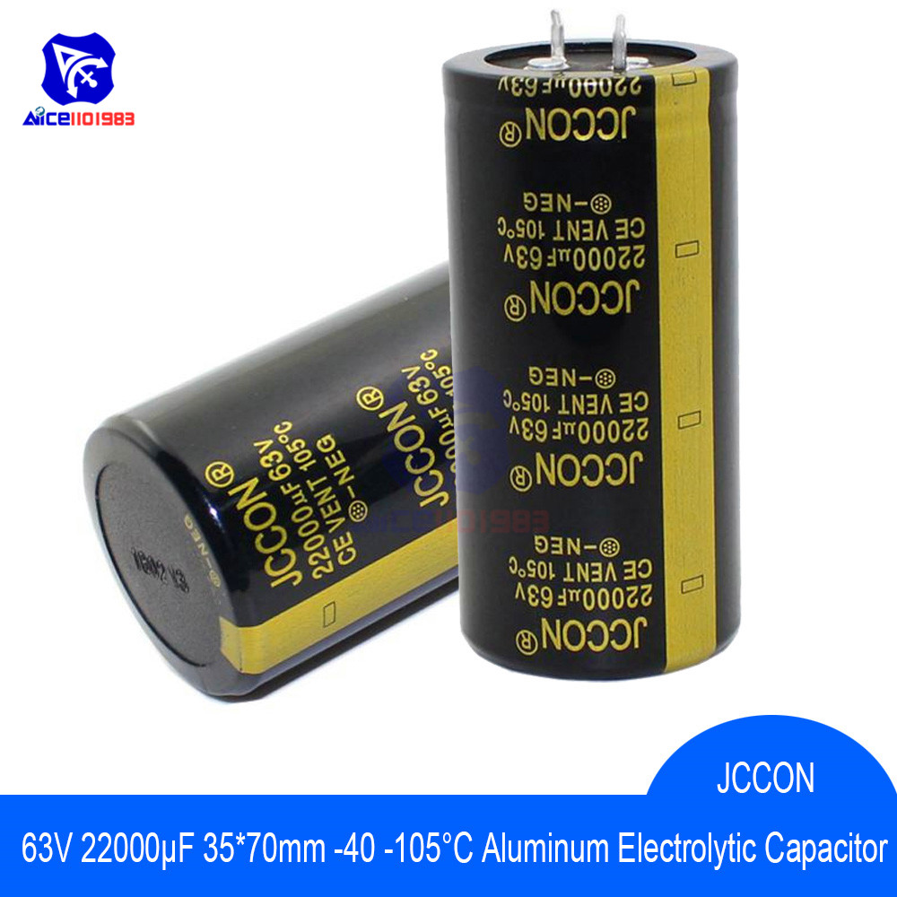 2pcs 63V 22000UF FOR AUDIO Electrolytic Capacitor