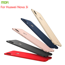 New 2018 For Huawei nova 3i Case Cover MOFI Fitted Cases PC Hard /p smart plus Ultra thin 6.3