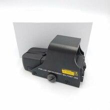 ยุทธวิธี 551 Red Dot Optics Holographic Sight Mini Reflex Optics Sight ปืนไรเฟิลขอบเขตการล่าสัตว์ Airsoft 20 มม. อุปกรณ์เสริม