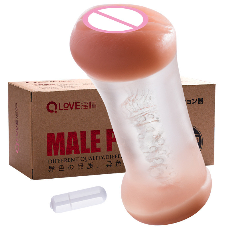 artificial vagina sex toys for men double pussy anal male masturbator pocket pussy silicone fake ass sex toy black wolf soft silicone pocket toys aircraft cup male masturbator sex toys for men fake pussy anal silica artificial vagina