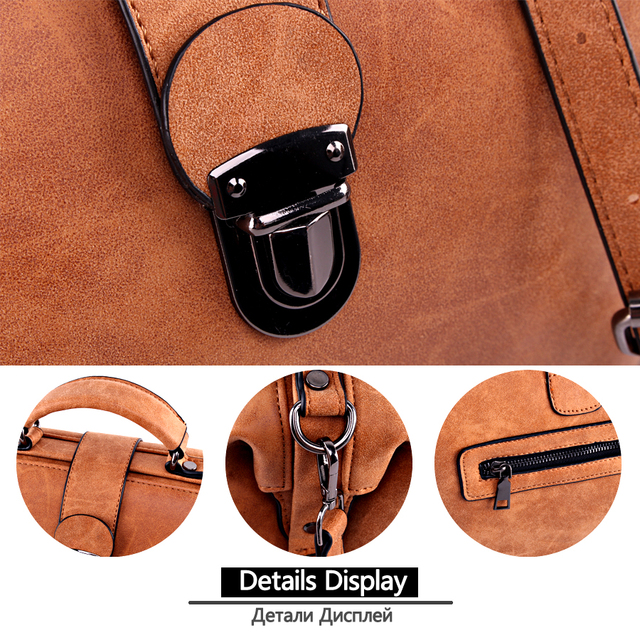 Women Handbags Crossbody Ladies Hand Bags Female Leather Shoulder Bag 3
