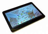 Preto 10.1 Polegada para EPLUTUS G10S Capacitive touch screen painel de reparação peças de reposição frete grátis|Painéis e LCDs p/ tablet|Computador e Escritório -