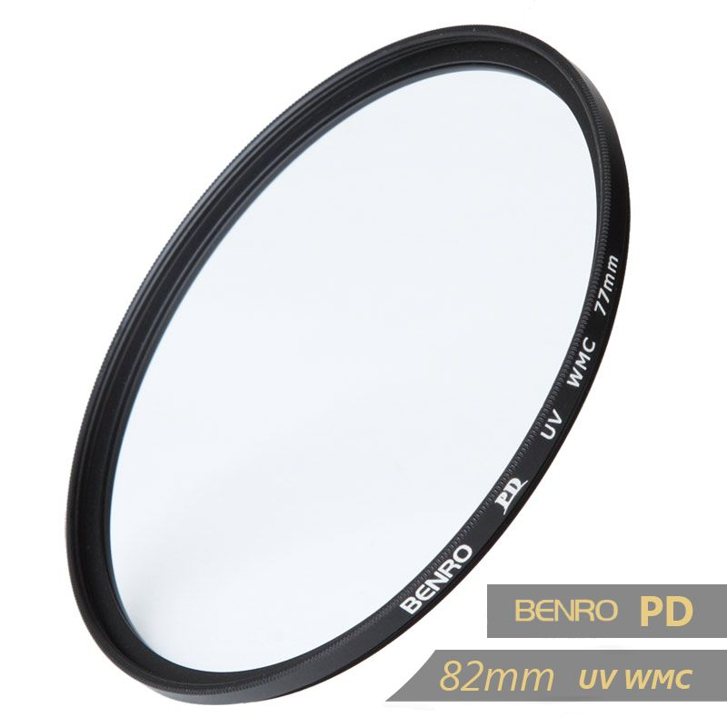 Benro 82mm PD UV WMC Filter 82mm Waterproof Anti-oil Anti-scratch Ultra thin Ultraviolet Filters Free Shipping benro 82mm pd cpl filter pd cpl hd wmc filters 82mm waterproof anti oil anti scratch circular polarizer filter free shipping