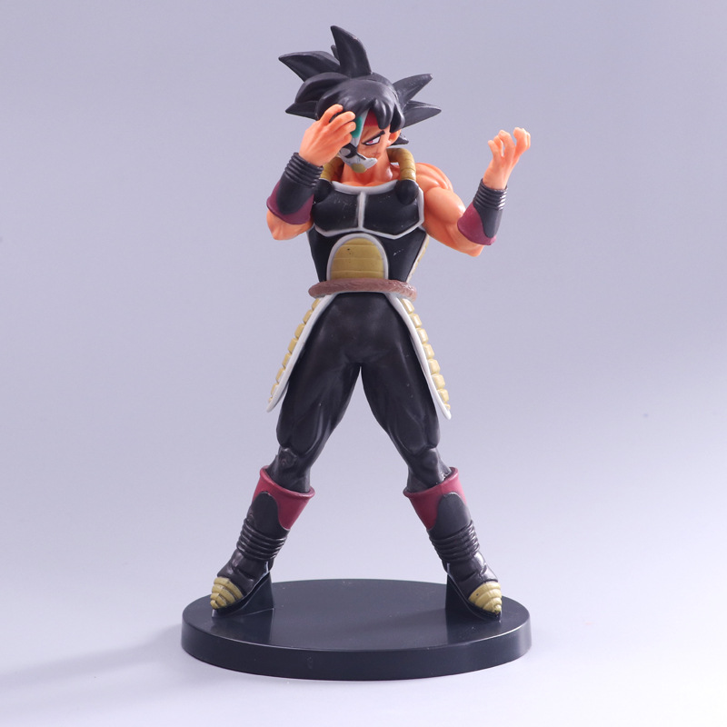 Super Dragon Ball Heroes Saiyan Masked Bardock DXF 7th Anniversary Figure Collectible Model Toy 21cm
