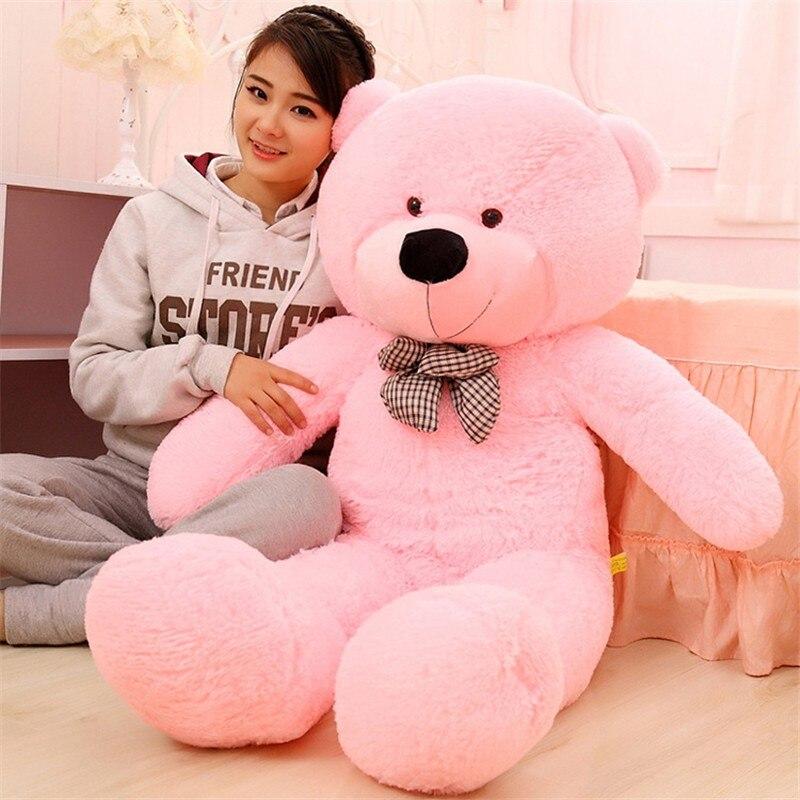 100CM Riesen Big Größe Teddybär Kawaii Plüsch Spielzeug Peluches Stofftier Juguetes Mädchen Spielzeug Geburtstag Präsentieren Weihnachten Geschenk