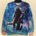 "Hot Movie ""guardians of the galaxy"" 3D print Cool Cartoon sweatshirt men fashion hoodies male pull tops plus szie S-XL"