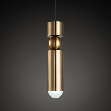 Simple Loft Style Iron Acryl LED Pendant Light Fixtures Creative Modern Lamp Dining Room Bar Hanging Droplight Indoor Lighting new 97cm led pendant light dining room bar shop modern led pendant lamp led fixtures led light wave strip style ac85 260v