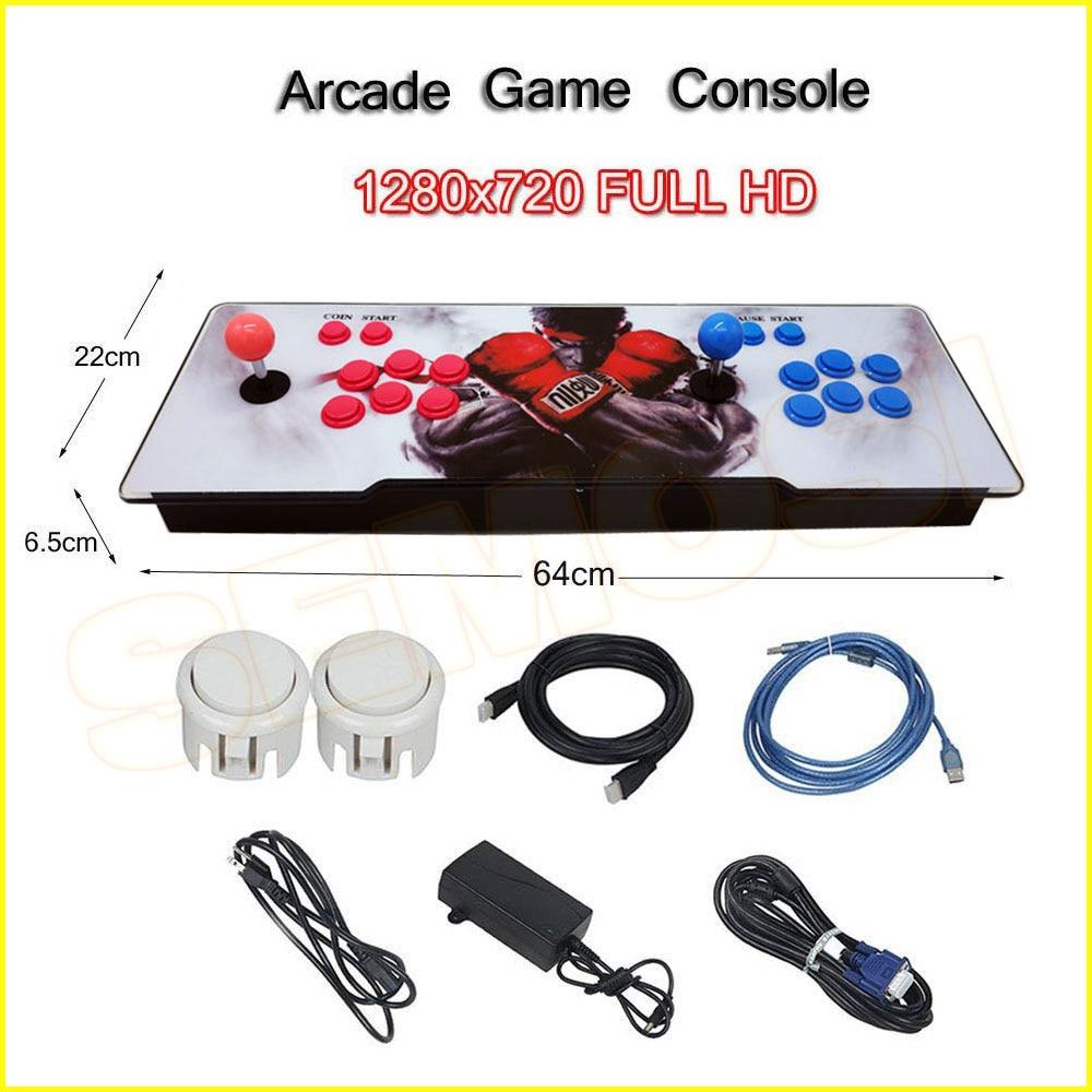 1660 In 1 Arcade Spiel Acryl Konsole 1388 In 1 2 Spieler Stick Controller Box 9 Spiel Maschine Hdmi Vga Usb Ausgang Ps3 Tv Pc