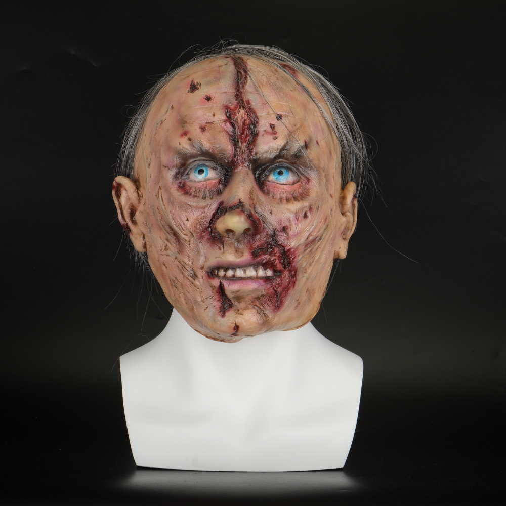 Halloween Masks Latex Party Horrible Scary Prank Cankered Skin Horror Mask Fancy Dress Cosplay Costume Mask Masquerade (3)