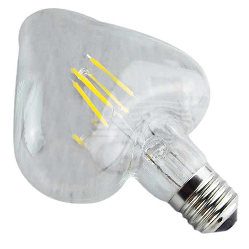 Edison Bulbs 4 Tier Led Vintage Light Bulb: 4W 220V LED Light Edison Bulb Filament Light Bulbs Retro