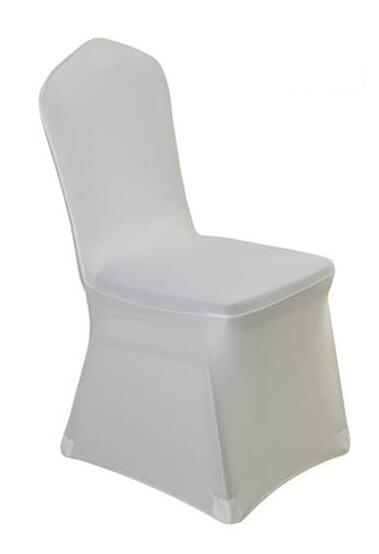 large banquet chair covers white spandex in bulk hotel protective celebration elastic cover conference anti dust