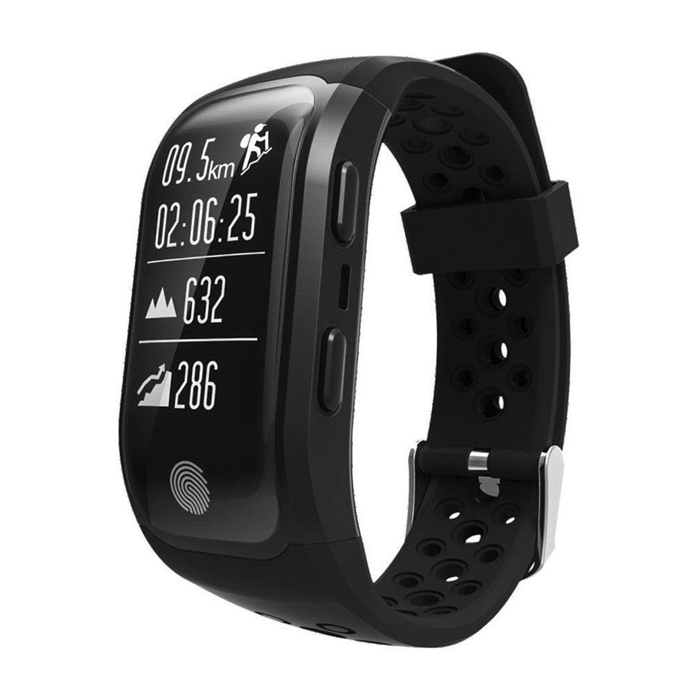 S908 Smart Bracelet IP68 Waterproof Heart Rate Sleep Monitor GPS Smartwatch Fitness Pedometer Pulseira Sport Tracker Wristband