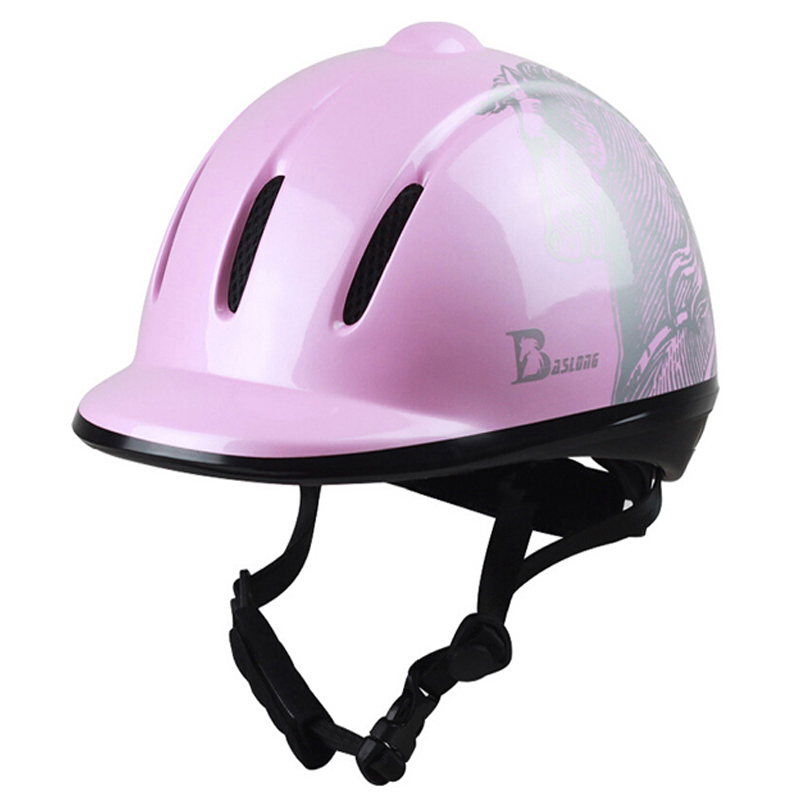 Women Children Horse Riding Helmet for Girl Riding Horse Helmet Portable Equestrian Helmet CE Certification 52-61 CM