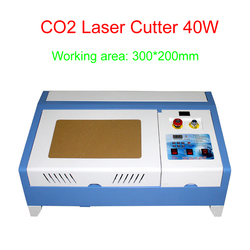 Hot sale CO2 laser cutter Digital 40W laser engraving machine cnc laser marking machine free tax to RU