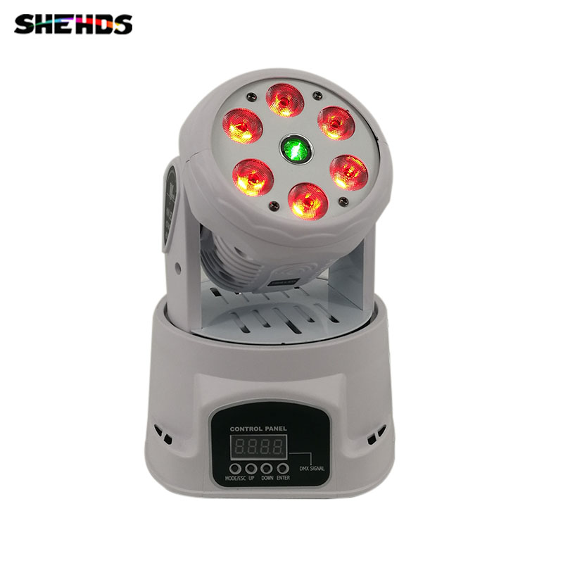 6x12W(+10W) Wash and green Laser LED Moving Head Laser Dj Disco Light Digital LED RGBW DMX 512 Stage Lighting for Party Club