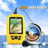 IP68 Водонепроницаемый подводный Камера монитор 3,5 ЖК дисплей Дисплей для подводной рыбалки с аккумулятором 20 м кабель