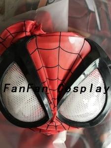 Image 4 - 3D Spiderman Masks Big Spiderman Lenses Spiderman Mask for Halloween Party Costume Props Adult Hot Sale