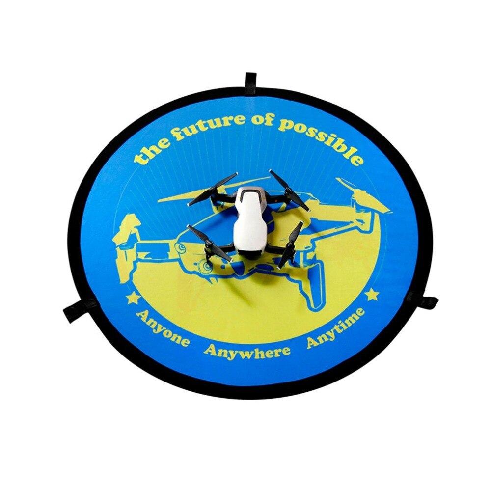 Landing Fast-fold Pad Parking Cover Drone Apron FPV For DJI Spark Blue+Orange
