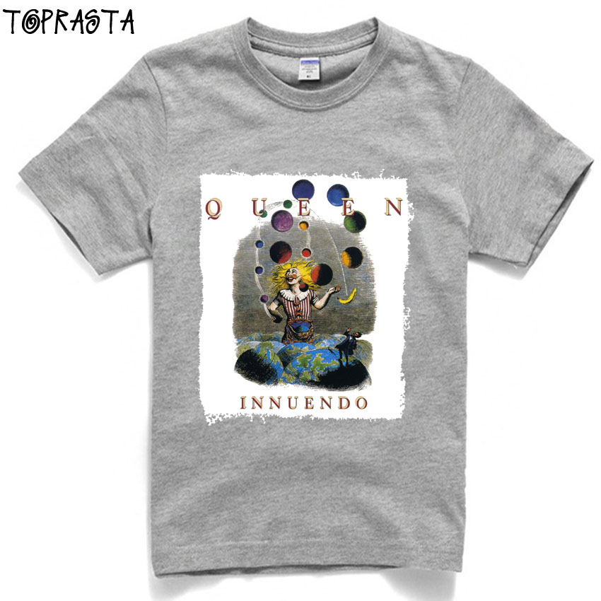 3ff45677 queen innuendo rock band men women size high quality cotton t shirt-in T- Shirts from Men's Clothing on Aliexpress.com | Alibaba Group