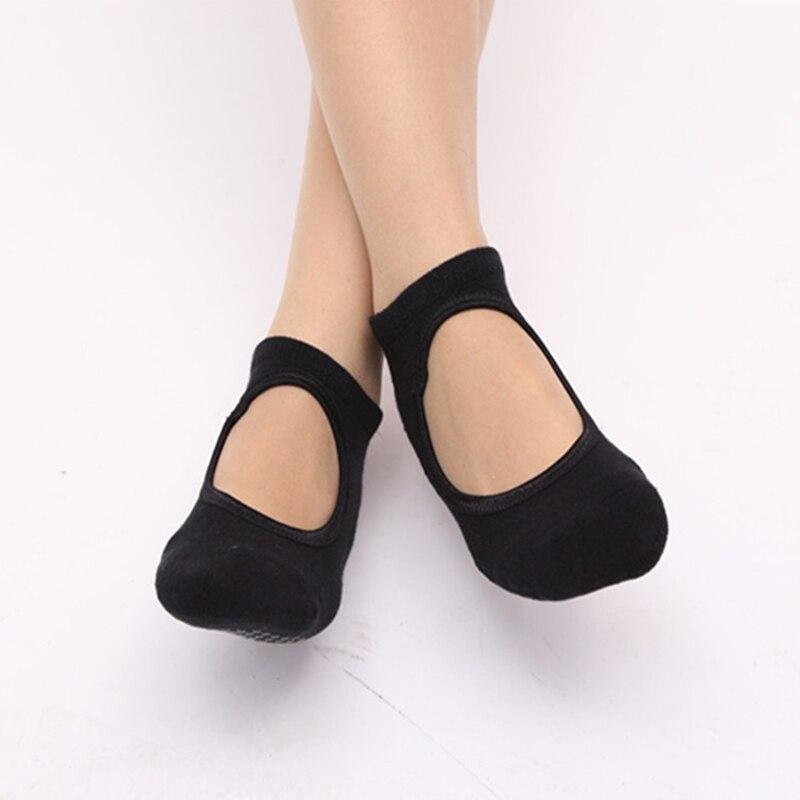 ★  Фитнес Дамы Девушки Женщины Спорт Yoga Grip Socks Профессиональные мягкие хлопчатобумажные нескользя ✔