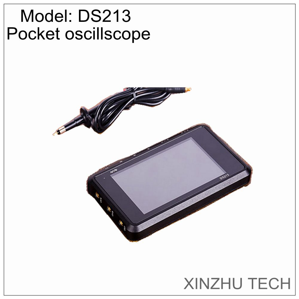DSO DS213 mini digital oscilloscope 100MS/s pocket oscilloscope large display screen DC/AC CE FCC image