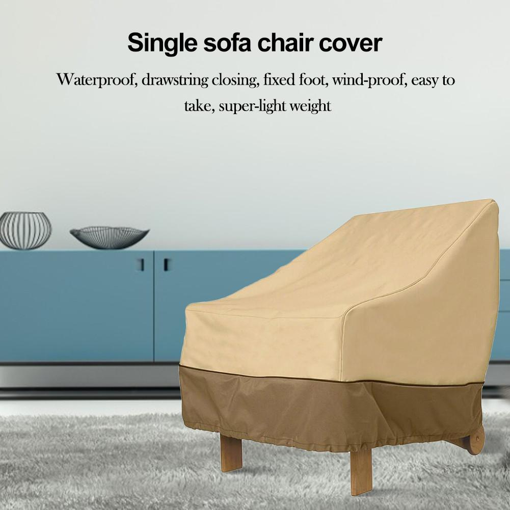 Chair Sofa Cover Garden Table Chair Shed Waterproof Outdoor Furniture Dust Cover Chair Covers Reversible Washable Removable Armr|Shoe Covers| |  - title=