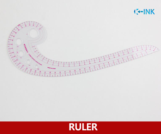 42cm French Curve Ruler , Tailor's Sewing Ruler For Clothes