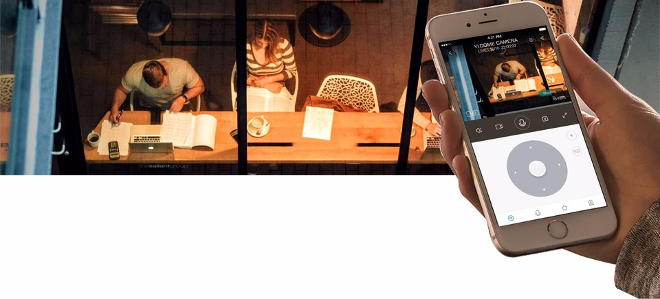 1080P Xiaomi YI Dome Home Camera (4)