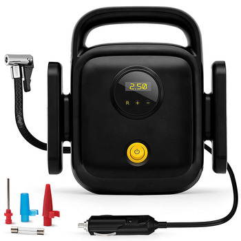 Portable Car Air Pump with Digital Display